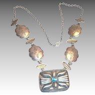 Vintage Estee Lauder Starshell Solid Perfume Necklace