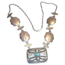 Vintage Estee Lauder Starshell Solid Perfume Necklace