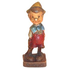 Vintage Multi Products Pinocchio Hand Painted Figurine