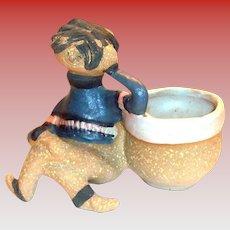 "Metlox Poppytrail Pottery Poppet ""Mike"" Planter"