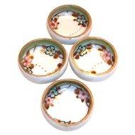 Vintage Nippon Hand Painted Porcelain Salt Cellar