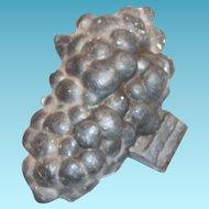 Vintage Pewter Grape Bunch Chocolate/Ice Cream Mold