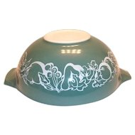"Pyrex Teal Color ""Salad Bowl"" - 1960 Promotional"