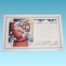 Vintage Whitney: May Christmas Be Happy In Scores Postcard