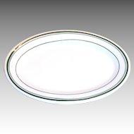 Jackson Vitrified China Restaurantware Smaller Oval Plate
