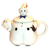 Vintage Shawnee: Tom The Piper's Son Pottery Teapot