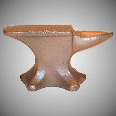 Vintage Jeweler's Brass Anvil