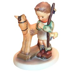 "Goebel Hummel: ""Prayer before The Battle"" Porcelain Figurine"