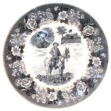 Staffordshire: Alfred Meakin: Buffalo Bill Collector's Plate