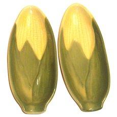 Shawnee Corn Cob Plates/Dishes