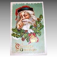 B.S.: Christmas Greetings, Santa Claus Postcard