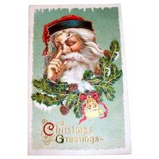 B.S.: Christmas Greetings, Santa Claus Postcard