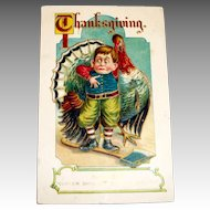 MAB: Thanksgiving, Saved Postcard - 1911