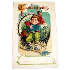 MAB: Thanksgiving, Saved Postcard - 1911