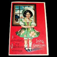 International Art Publishing: Love's Greeting Postcard