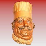 Bosson's Chef's Head Plaque