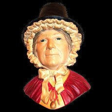 Bosson's Welsh Lady Head Plaque
