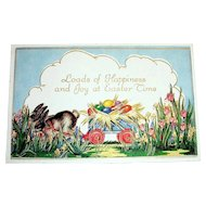 Loads Of Happiness And Joy At Easter Time Postcard