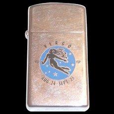 Vintage Zippo 1969 Virgo Lighter