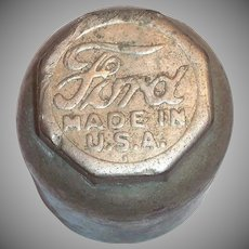 Vintage Ford Model-T Metal Hubcap