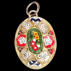 Lovely Mosaic Pendant - Italy