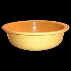 Fiesta Golden Yellow Nappy Bowl - 1938