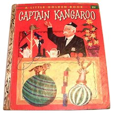 Little Golden Children's Book: Captain Kangaroo, 1956, A Edition