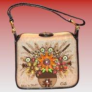 "1960's Enid Collins ""Stix 'N Stuff"" Handbag/Purse"