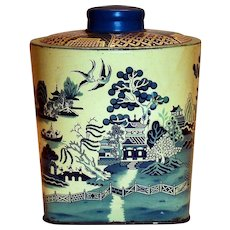 Derbyshire's Imported Oriental Design Candy Tin