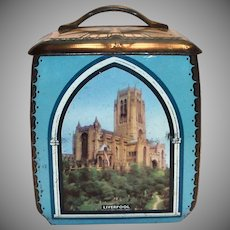 Vintage Advertising English Candy/Toffee Tin
