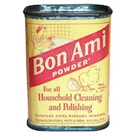 Bon Ami Powder Unopened Sample Size Tin