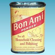 Bon Ami Powder Unopened Sample Size Tin
