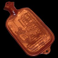 Vintage Child's Nursery Rhyme Rubber Hot Water Bottle