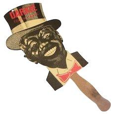 Black Americana: Darkie Toothpaste Cardboard Hand Fan