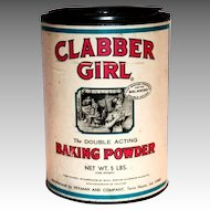Clabber Girl 5 Lbs Baking Powder Tin