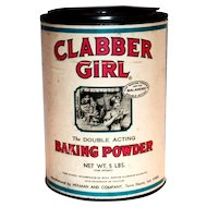Clabber Girl 5 Lbs Baking Powder Tin