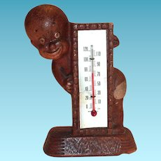 Multi. Products Inc.: African American Boy Thermometer