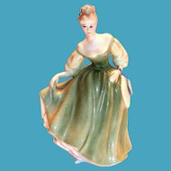 "Royal Doulton ""Fair Lady"" 1962 Bone China Figurine"