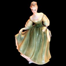 "Royal Doulton ""Fair Lady"" 1962 Porcelain Figurine"