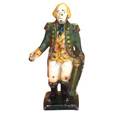 Vintage George Washington Cast Iron Bank