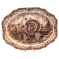 Johnson Bros.: His Majesty Turkey Platter