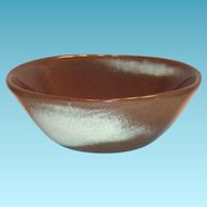 Frankoma 5X5 Small Brown Pottery Bowl