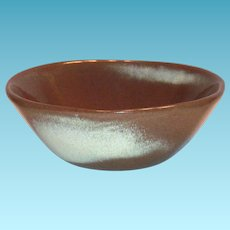 Frankoma 5X5 Small Brown Pottery Bowl