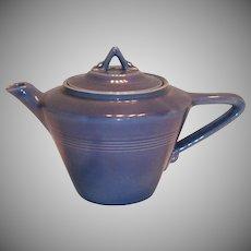 Homer Laughlin Harlequin Country Blue Teapot