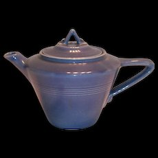 Homer Laughlin Harlequin Country Blue Teapot