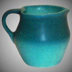 Van Briggle Heart Shaped Top/Rim Pottery Creamer