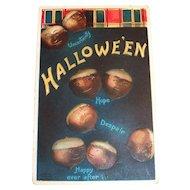 International Art Publishers: Hallowe'en, Acorn Postcard - Clapsaddle