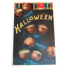 International Art Publishers: Hallowe'en, Acorn Postcard - Clapsaddle