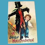 Clapsaddle: A Jolly Hallowe'en Postcard - 1911