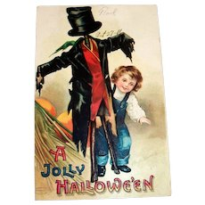 Clapsaddle: A Jolly Hallowe'en Postcard - 1911